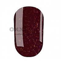 Гель-лак OXXI Professional № 089 (вишнево-коричневый с золотистыми блестками), 8 мл