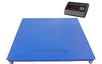 Платформенные электронные весы TRIONYX П1212-СН-1500 A6 (1200х1200 мм, НПВ=1,5 тонны, d=0,5 кг)