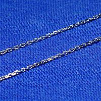 Тонкая серебряная цепочка Якорная 50 см 2,2 грамм 90102104044