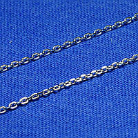 Якорная серебряная цепочка 50 см 90102105044