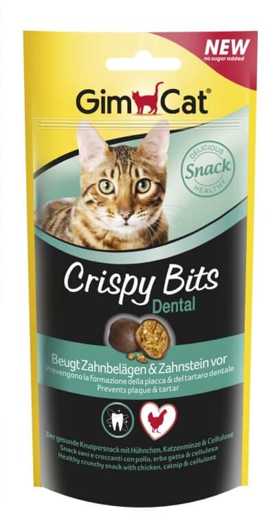 Crispy Bits Dental Тефтельки предотвращающие образование зубного камня и зубного налета, для кошек, 40г