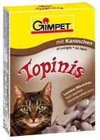 Gimpet TOPINIS кролик для улучшения обмена веществ, микрофлоры кишечника, 220 г