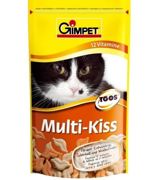 Gimpet Поцілунки Мульти-кіс, 40гр, 53 шт