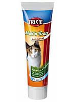 "Trixie ""Malt`n` Grass"" Витамины для кошек, шерстевыводящая паста, 100гр"