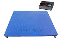 Платформенные электронные весы TRIONYX П1520-СН-3000 A6 (1500х2000 мм, НПВ=3 тонны, d=1 кг)