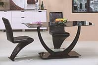 Стеклянный  обеденный стол Anton (Halmar)