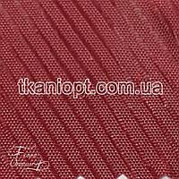 Ткань Подкладочная ткань диагональ 210Т (бордовый)