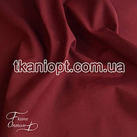 Ткань Рубашечная ткань (бордовый)