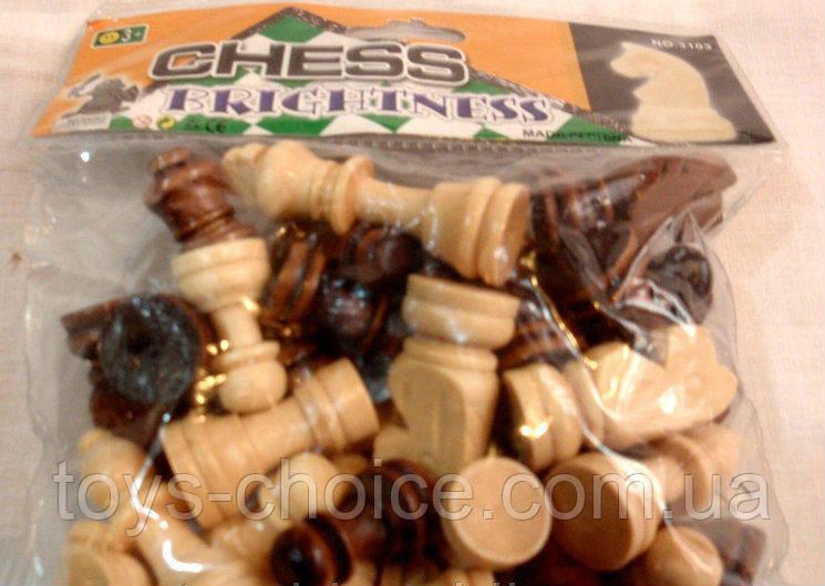 Набор Деревянных Шахматных Фигур