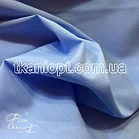 Ткань Рубашечная ткань хлопок (небесно-голубой)