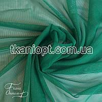 Ткань Сетка бистрейч (изумруд)
