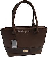 :Женская сумка с лаковым поясом