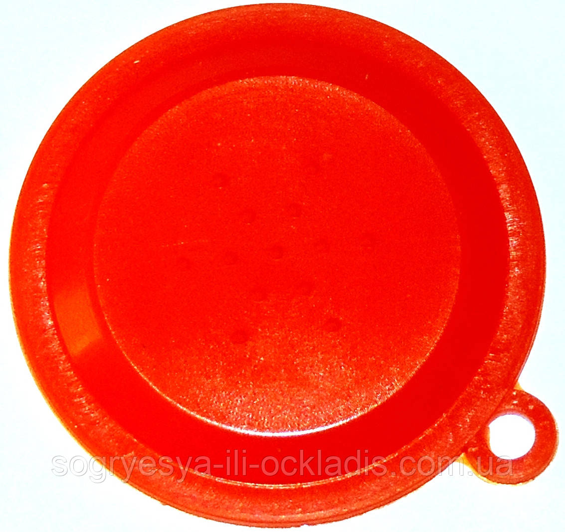Мембрана 45 мм (силикон, красная, без фирм. упаковки, Италия) клапана Fugas, артикул 70101002, код сайта 0504