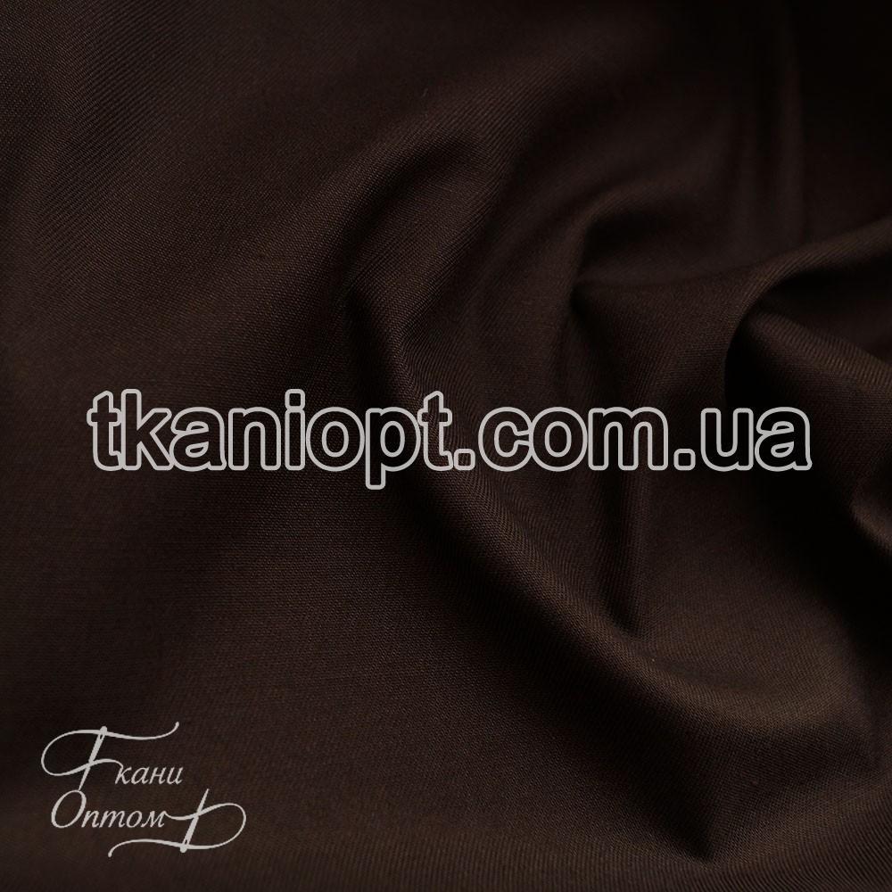 Ткань Спец ткань саржа (коричневый)