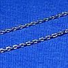 Цепь из серебра Якорная 50 см 90102106044