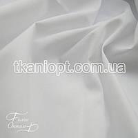 Ткань Стрейч поплин (белый)