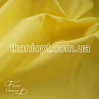 Ткань Стрейч поплин (желтый)