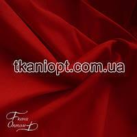 Ткань Стрейч поплин (красный)