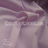 Ткань Стрейч поплин (светло-сиреневый)