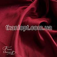 Ткань Стрейч тафта атлас (бордовый)