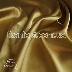 Ткань Стрейч тафта атлас (золото)