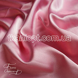 Ткань Стрейч тафта атлас (розовый)