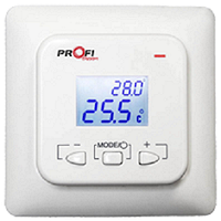 Profitherm-EX01 с датчиком пола, цифровой терморегулятор для теплого пола
