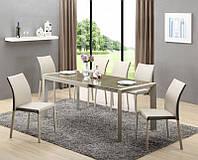 Стеклянный  обеденный стол Arabis (Halmar)