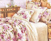Полуторный набор постельного белья Ранфорс platinum Romance