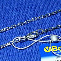 Серебряная цепь Якорь 55 см 90104108044, фото 1