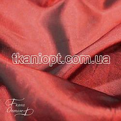 Ткань Тафта хамелеон (бордовый)