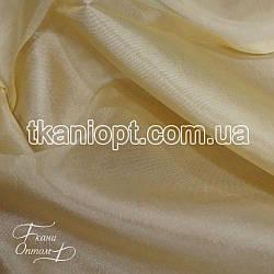 Ткань Тафта хамелеон (св. бежевый)
