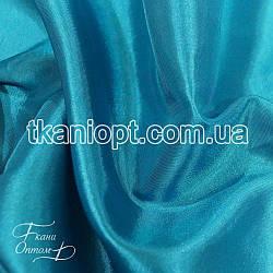 Ткань Тафта хамелеон(Бирюзовый)