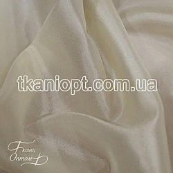 Ткань Тафта хамелеон(молоко)