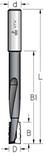 Фреза цилиндрическая для выборки пазов (до 120 мм) под дверные и мебельные замки D = 16 мм, хвостовик = 16 мм.