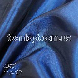 Ткань Тафта хамелеон(темно- синий)