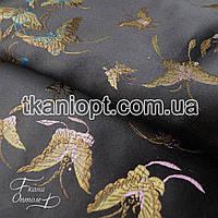 Ткань Ткань атлас с рисунком ( бабочки )