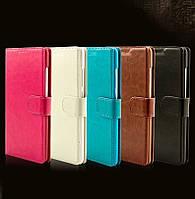 """Samsung G532 J2 Prime оригинальный чехол книжка иск. КОЖА с карманами для телефона """"CCOVER"""""""