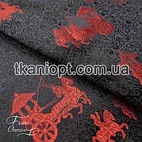 Ткань Ткань атлас с рисунком ( фаэтон )