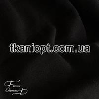 Ткань Трехнитка с начесом Турция (черная), фото 1