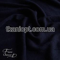 Ткань Трикотаж ангора  (темно-синий)