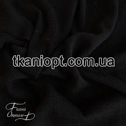 Ткань Трикотаж ангора (черный)