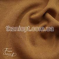 Ткань Трикотаж ангора джерси (бежево-коричневый)