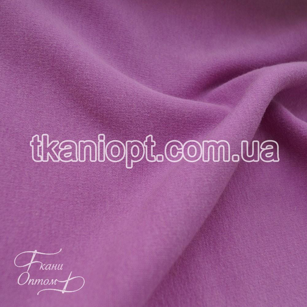 Ткань Трикотаж ангора на меху (сиреневый)