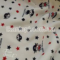 Ткань Трикотаж ангора на меху (детская)