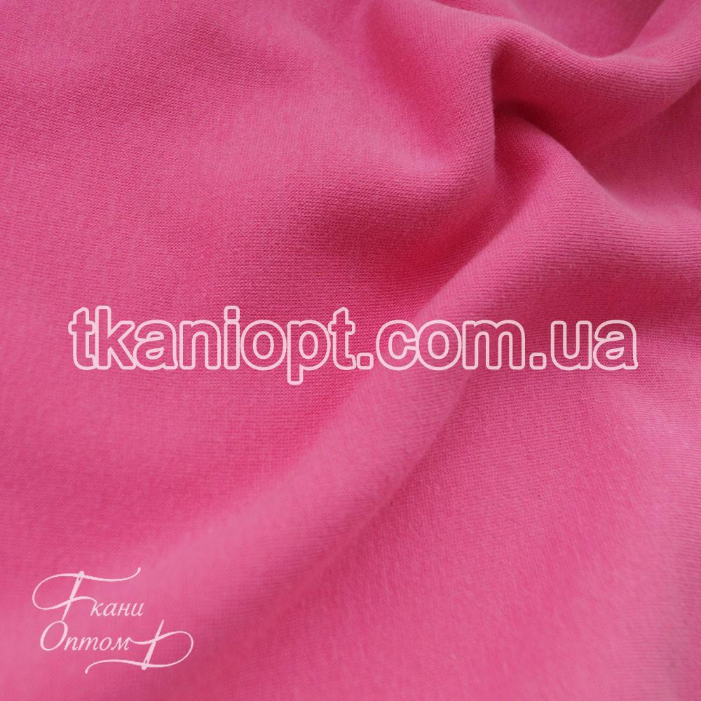 Ткань Трикотаж ангора на меху (малиновый)
