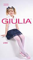 Колготки белые для девочек с узором LINA 20 (6) Giulia, разные цвета, фото 2