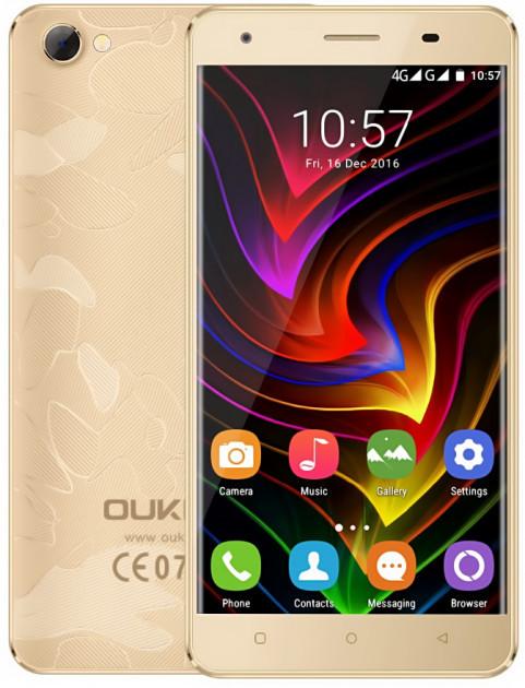 """OUKITEL C5 Pro Gold 2/16 Gb, 5"""", MT6737, 3G, 4G"""