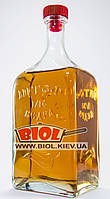 """Бутылка 1,2л стеклянная с пластиковой пробкой и надписью """"Штоф 1/10 ведра"""""""