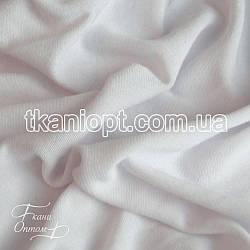 Ткань Трикотаж ангора тонкая (белый)